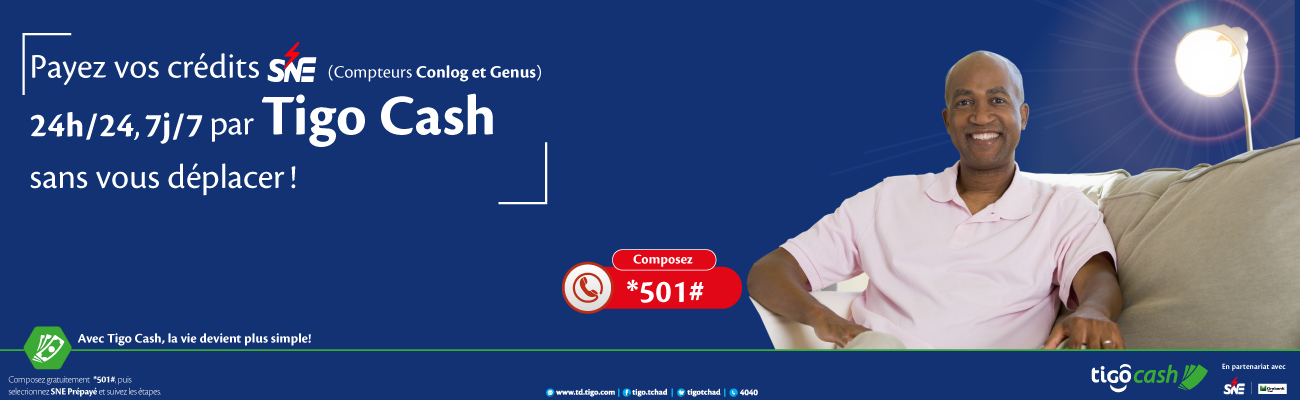 SNE Tigo cash site web